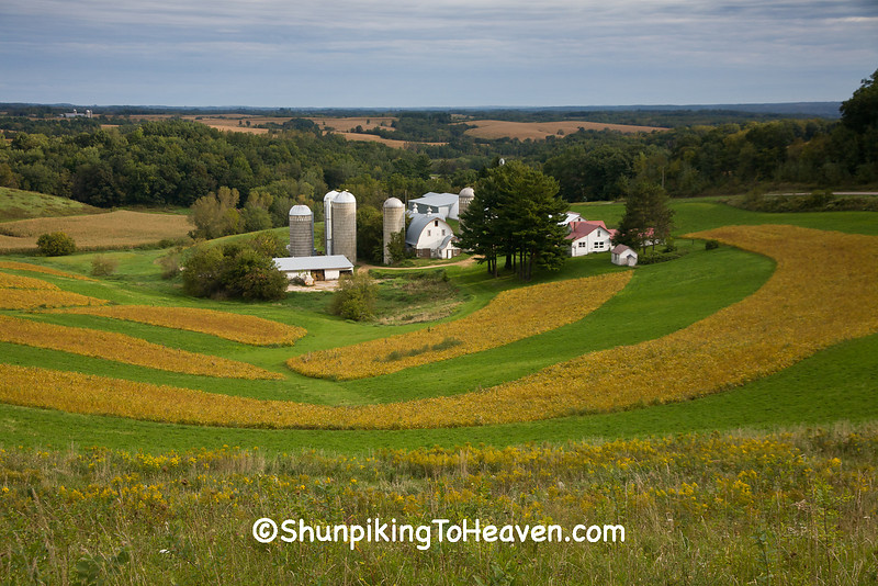Farm in the Valley, Trempealeau County, Wisconsin