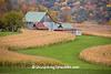 Autumn Farm Scene, Sauk County, Wisconsin