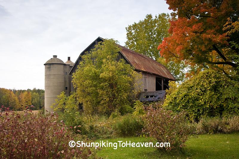 Autumn Farm Scene, Shawano County, Wisconsin