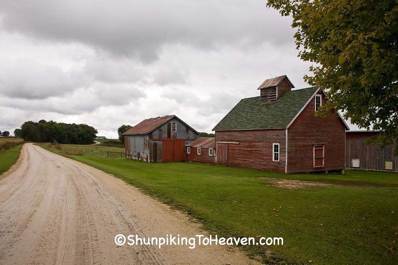 Outbuildings of Old Farmstead, Winona County, Minnesota