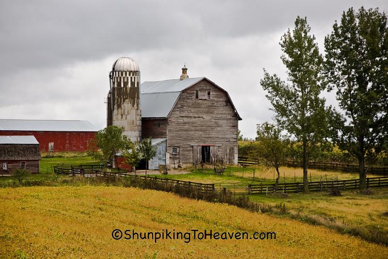 Autumn Farm Scene, Winona County, Minnesota