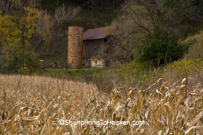 Autumn Farm Scene, La Crosse County, Wisconsin