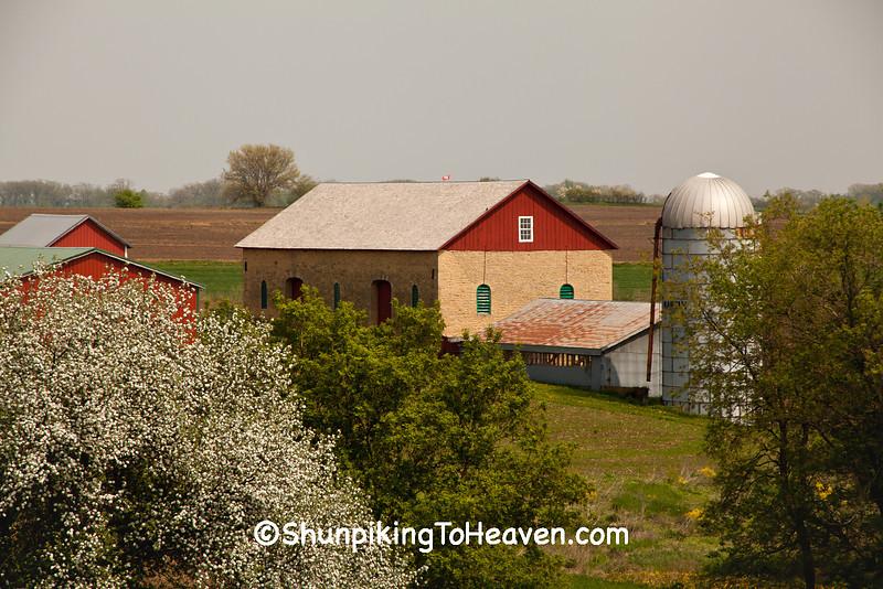 Thomas Stone Barn, Iowa County, Wisconsin