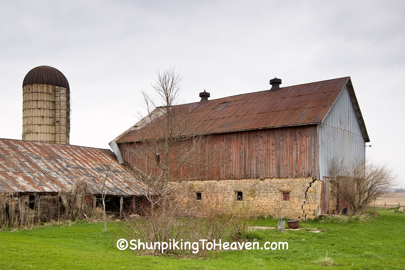 Early Spring Farm Scene, Ogle County, Illinois