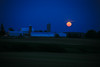 Blue Moon Over Farm, Dane County, Wisconsin