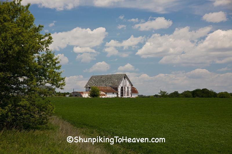 Spring Farm Scene, Dane County, Wisconsin