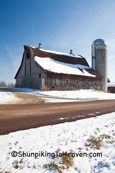 Farm on Rustic Road, Vernon County, Wisconsin