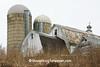 Winter Farm Scene, Richland County, Wisconsin