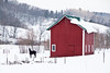 Winter Farm Scene, Vernon County, Wisconsin