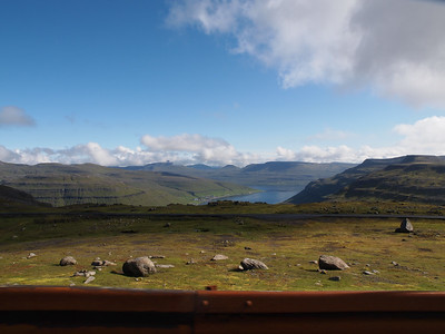 View from Faroe Islands former NATO radar base. Photo: Martin Bager.