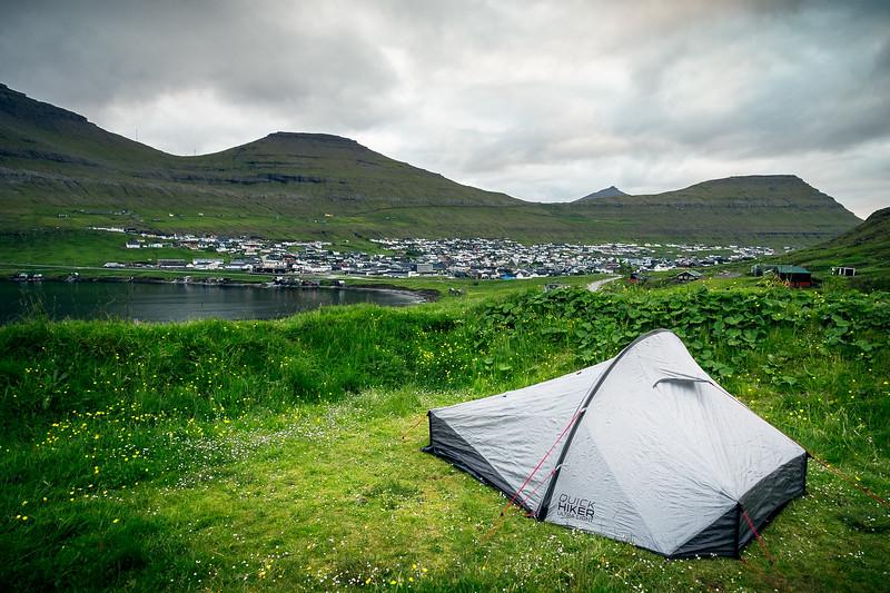 Camping in Klaksvík