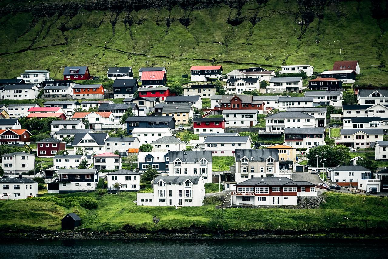 Faroe Island Houses