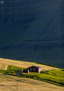 Faroe Islands, Kalsoy, Trøllanes