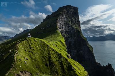 Faroe Islands, Kallur Lighthouse