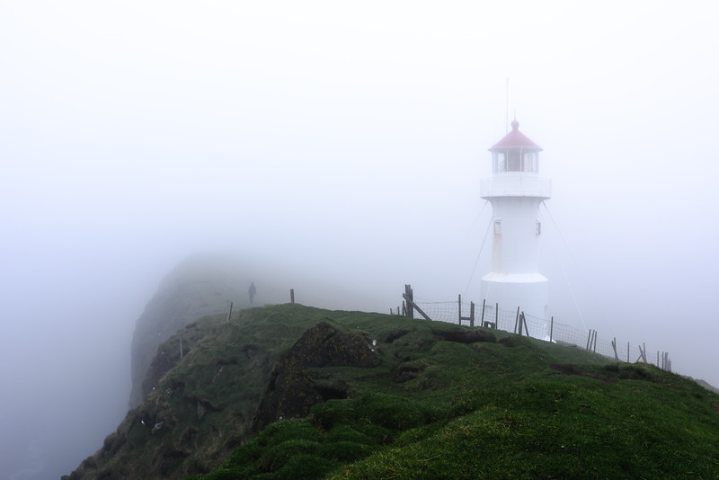 Mykines Hólmur Lighthouse
