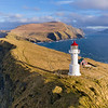 Mykines Holmur Lighthouse Aerial