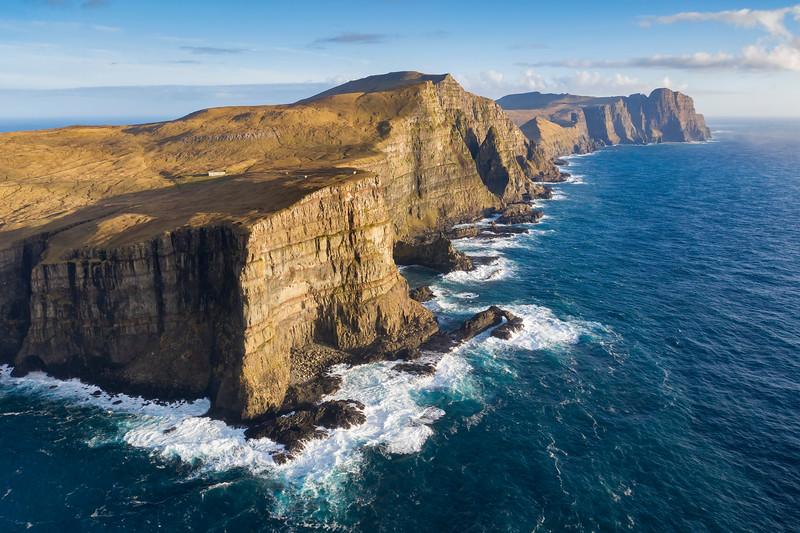 Suduroy Cliffs and Coastline