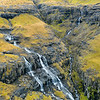 Rocky Ridge and Gorge Waterfall Aerial