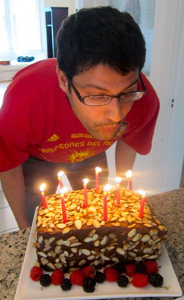 Farouk's Sticky Sweet Birthday Weekend September 2011