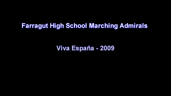 Video from 2009 Marching Season
