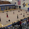 FHS Indoor Guard performance at Karns