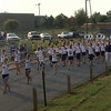 Farragut Marching Admirals march to the stadium...Go Blue!