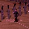 Farragut's Drum Major salute