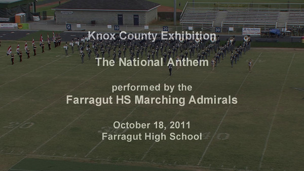 2011 Knox County Band Exhibition 10-18-2011