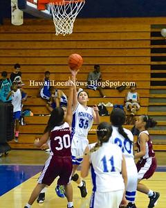 Farrington Governors vs MoHS Varsity Girls 2015 Basketball Senior Night