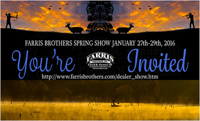Farris Brothers, Inc. - Spring 2016 Dealer Show Invite