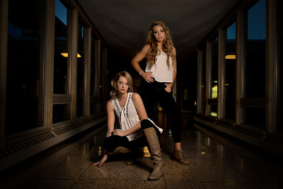 These two ladies of Marshfield, WI, pulled off this look amazingly! I can not wait to take their senior photos this year!