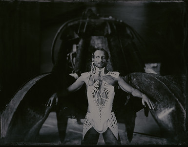 Mokry kolodion, Wet plate collodion, Mentor panorama, Large Format , Ambrotype