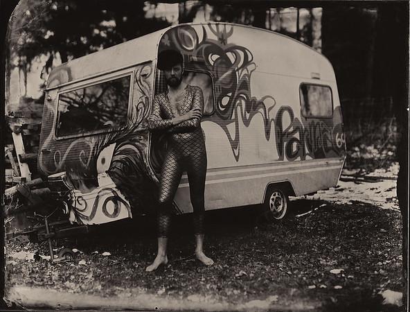Model: Grzegorz Fuks, Plener Lody