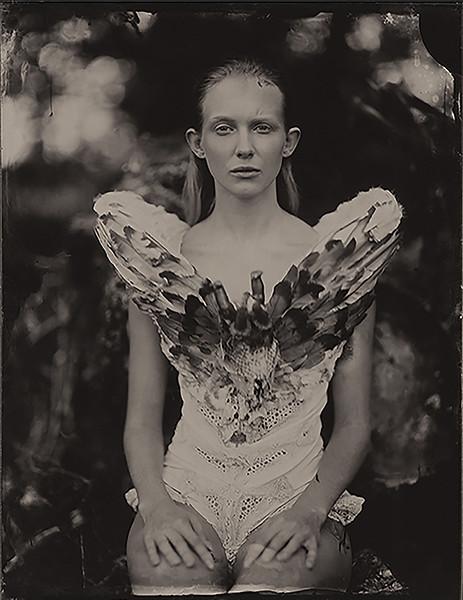 Model: Patrycja Iwańska, Designer: Charlie Minson,  Plener Podlasie