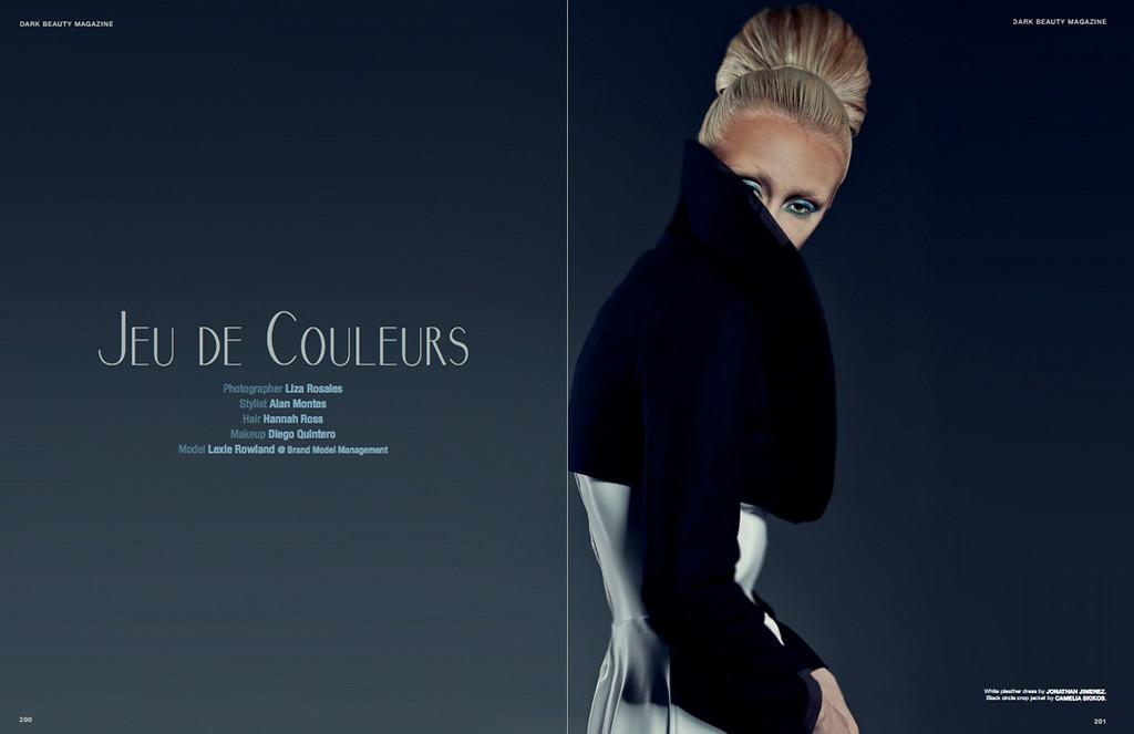 Dark Beauty Magazine - August 2014