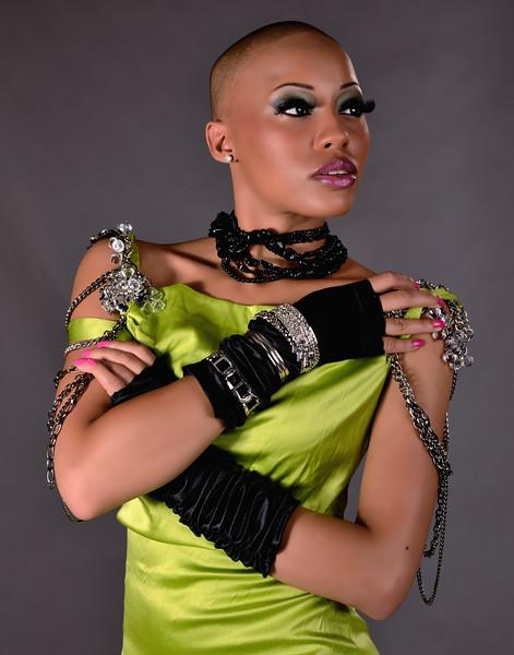 Model: Deidra Robinson | Makeup: Patrice Story | Wardrobe/Styling: Crystal Harris<br /> Photography: Luigi Ginosa | LGPhotoArt<br /> Location: samdobrow photography studio – Alpharetta, GA | Date: May 28, 2011