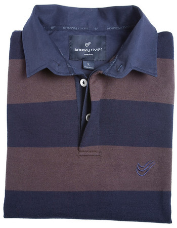 467 600 Bold Stripe Rugby Turtle