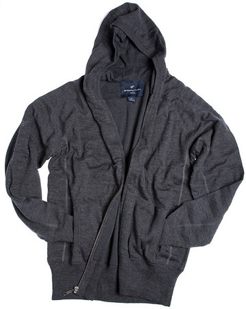 436 622 Chalet Hoodie Charcoal