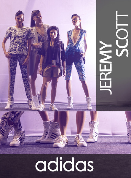 Adidas Jeremy Scott Launch
