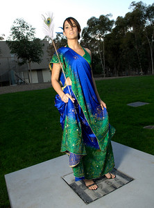 ASHA for Education presents Jhalak A Glimpse of Fashion, fashion show at the Price Center Ballroom on the campus of UCSD. Designs by Omesha and Frontier Heritage plus select clothing from Pure Boutique.