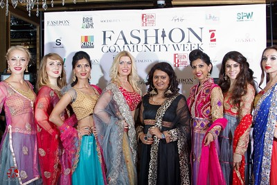 ViBha's fashion show at Fashion Community Week 2014!!