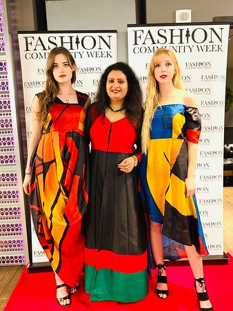 ViBha at Fashion Community Week Holiday Fashion Soiree 2018!