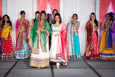 ViBha's Bridal Fashion Show @ Wedding Bells Event 2013!