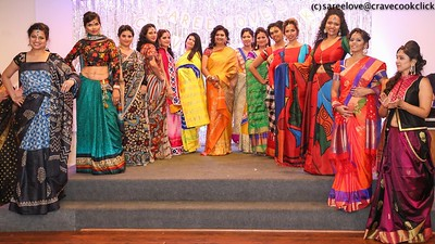 ViBha's Fashion Show at Saree Love@Crave Cook Click event 2015!!