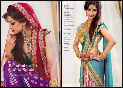 ViBha in Indian Weddings Magazine! - Spring Issue!