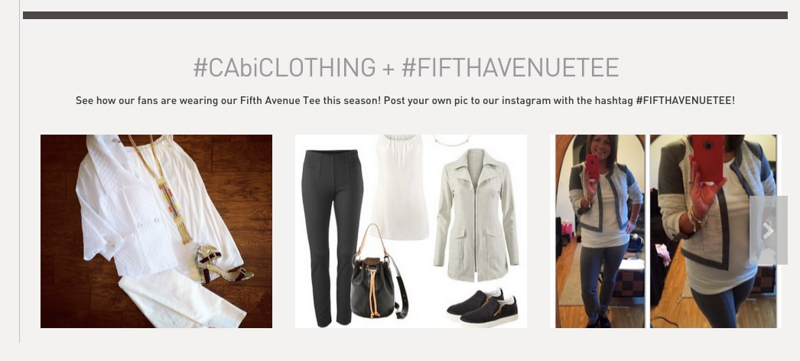 CabiClothing with Tagging
