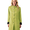 Simone Raincoat Jet-Leaf