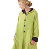 Madison Raincoat Jet-Leaf