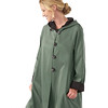 Madison Raincoat Jet-Patina