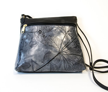 Leaf Leather Purses at Smith Galleries